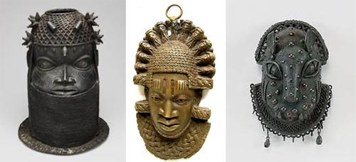 Benin-sculptures