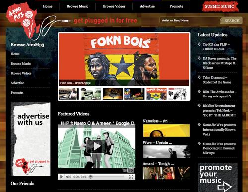 Afro-MP3-screengrab