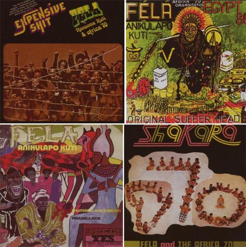 Fela-Kuti-albums
