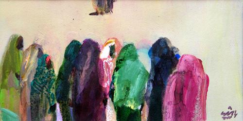 Dr. Rashid Diab art