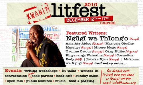 Kwani litfest 2010