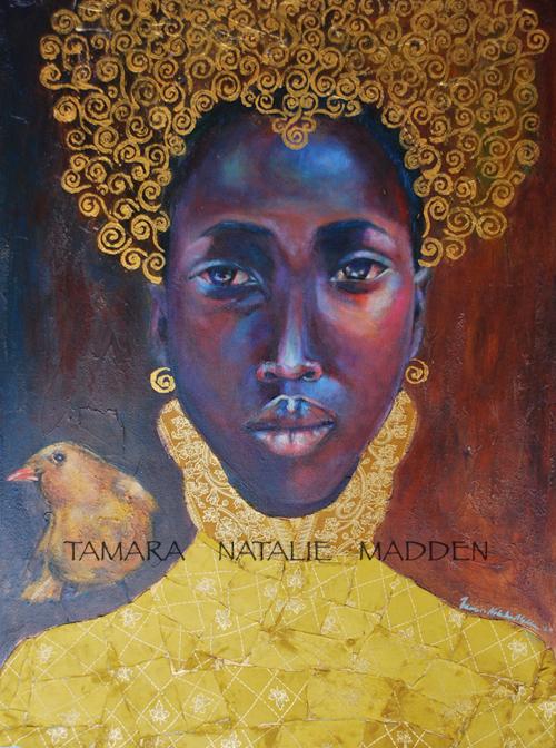 Golden-Tamara-Natalie-Madden-painting