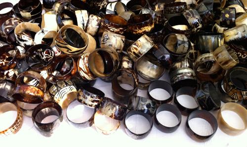 Horn-bracelets