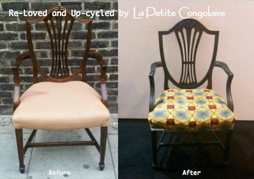 La Petite Congolaise Re-Loved Chair