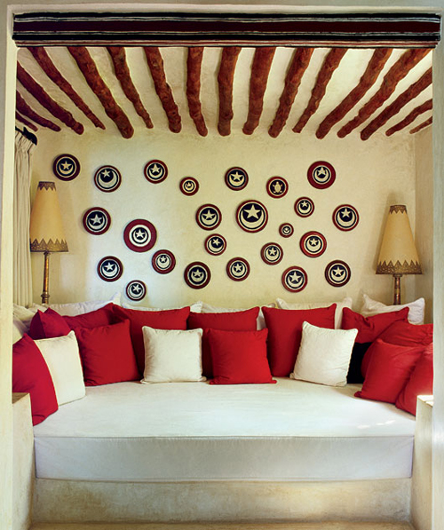 Crescent Moon Alcove In Lamu House