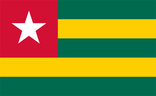 Togo-Flag-by-Paul-Ahyi