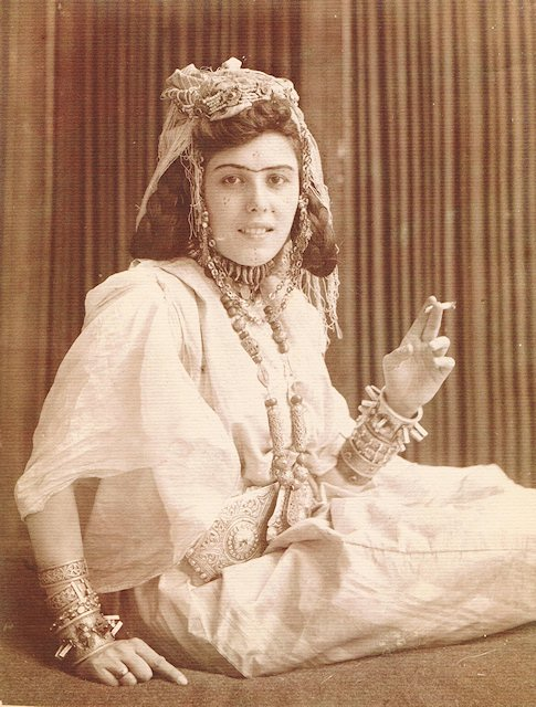 Ouled Nail woman from Algeria