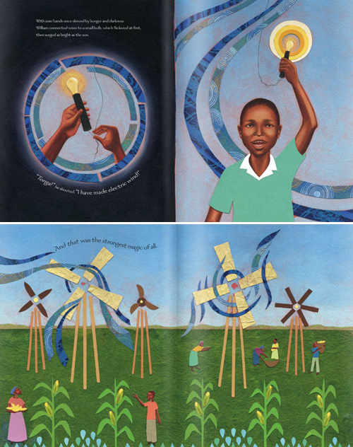The-Boy-Who-Harnessed-the-Wind-illustrations-by-Elizabeth-Zunon