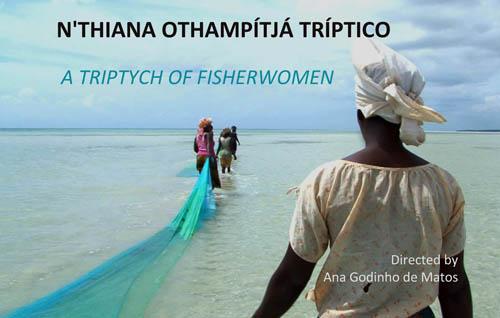 N'Thiana Othampítjá Tríptico: A Triptych of Fisherwomen