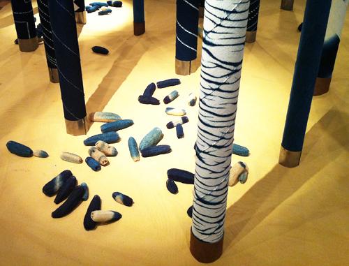 Aboubakar-Fofana-Indigo-trees-textile-art