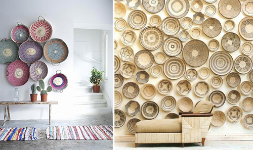 African-Baskets-as-wall-art