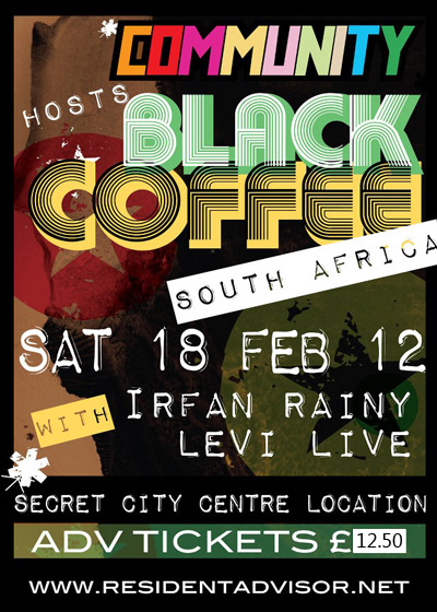 COMMUNITY HOST BLACK COFFEE