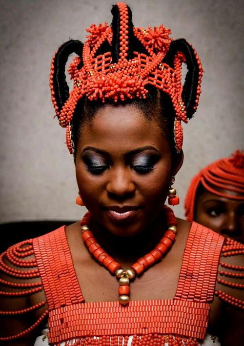 Traditional-Nigerian-Engagement-Coral-Beads-on-Afri-Love-2
