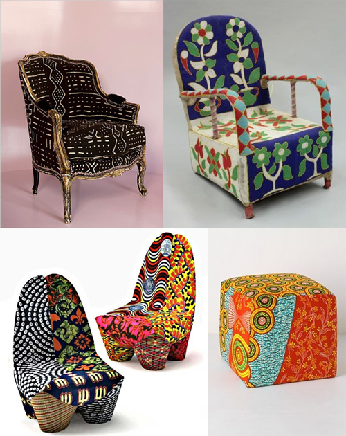 African-Product-Design-on-Afri-love-Furniture-Chairs-Mud-Cloth-Yoruba-Bead-Wax-Print