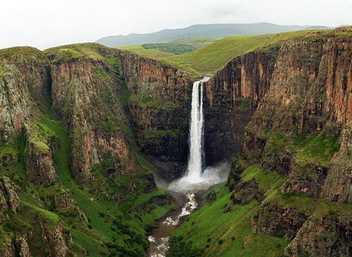 Maletsunyane Falls Lesotho Coda Flickr