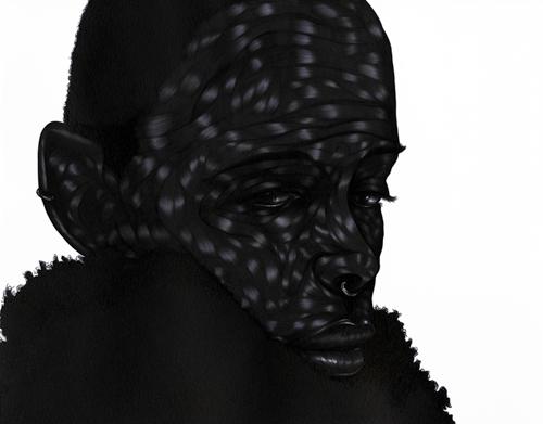 Toyin-Odutola-Art-Its-Not-So-Bad-is-It-on-Afri-love