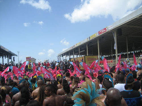 Tribe-Band-Jezebel-Section-Crossing-the-Stage-at-Carnival-Trinidad-and-Tobago