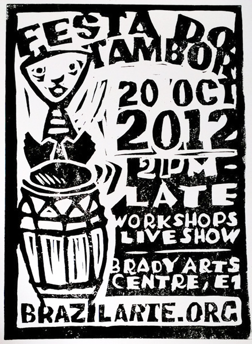 Black History Month 2012 London Events Afro Brazilian Festival of Drums Festa do Tambor