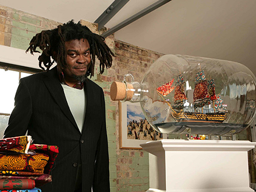 Happening-to-Be-Art-Exhibition-Yinka-Shonibare-Nelsons-Ship-Bottle