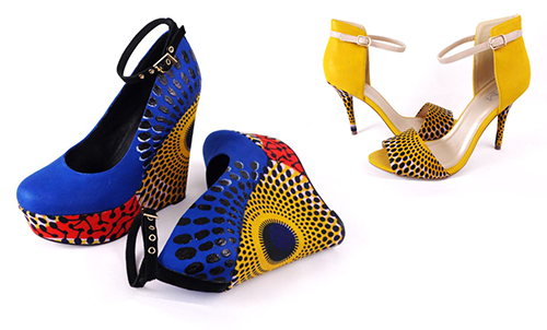 South-of-Africa-Wax-Print-Hand-Painted-Wedge-Stiletto-Sandal-Shoes