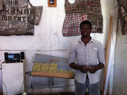 Dickens Otieno Kenya Artist GoDown Arts Centre