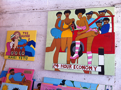 Michael Soi Kenya Art Paintings 24 Hour Economy