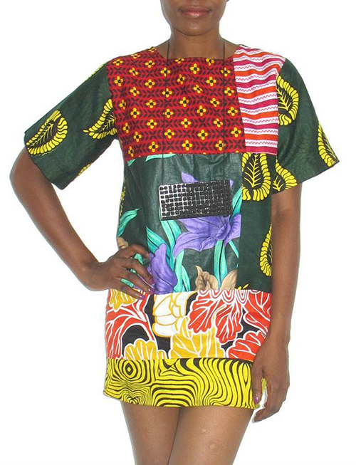 Modern-African-Fashion-Tanzania-Chichia-London-Forodhani-Patchwork-Tee-Dress