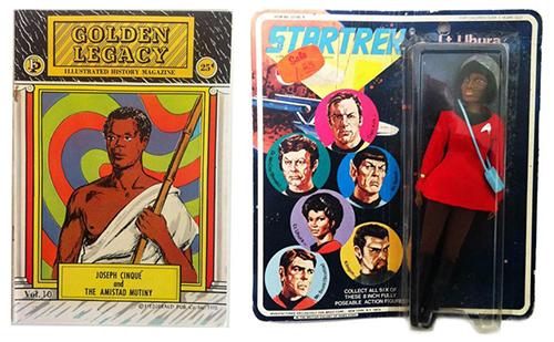 Afro Supa Hero Golden Legacy Star Trek Action Figure