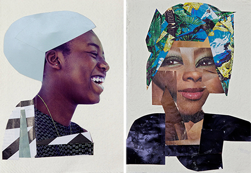 Lubaina-Himid-Collage-Art