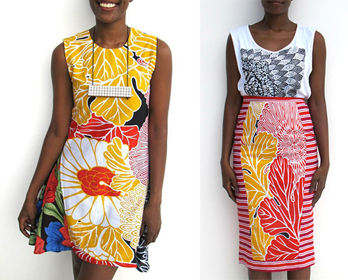 Modern-African-Fashion-Tanzania-Chichia-London-Madafu-Dress-Pwani-Midi-Skirt