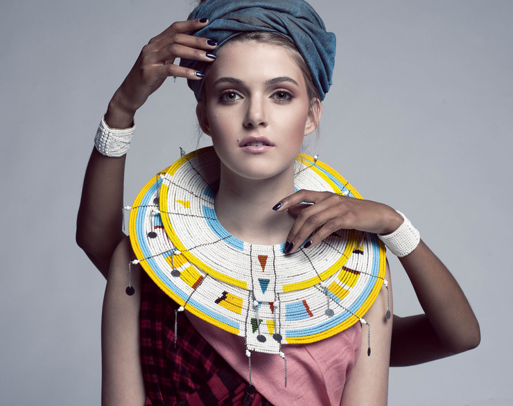 Sidai Designs Beaded Maasai Inspired Jewellery Necklaces
