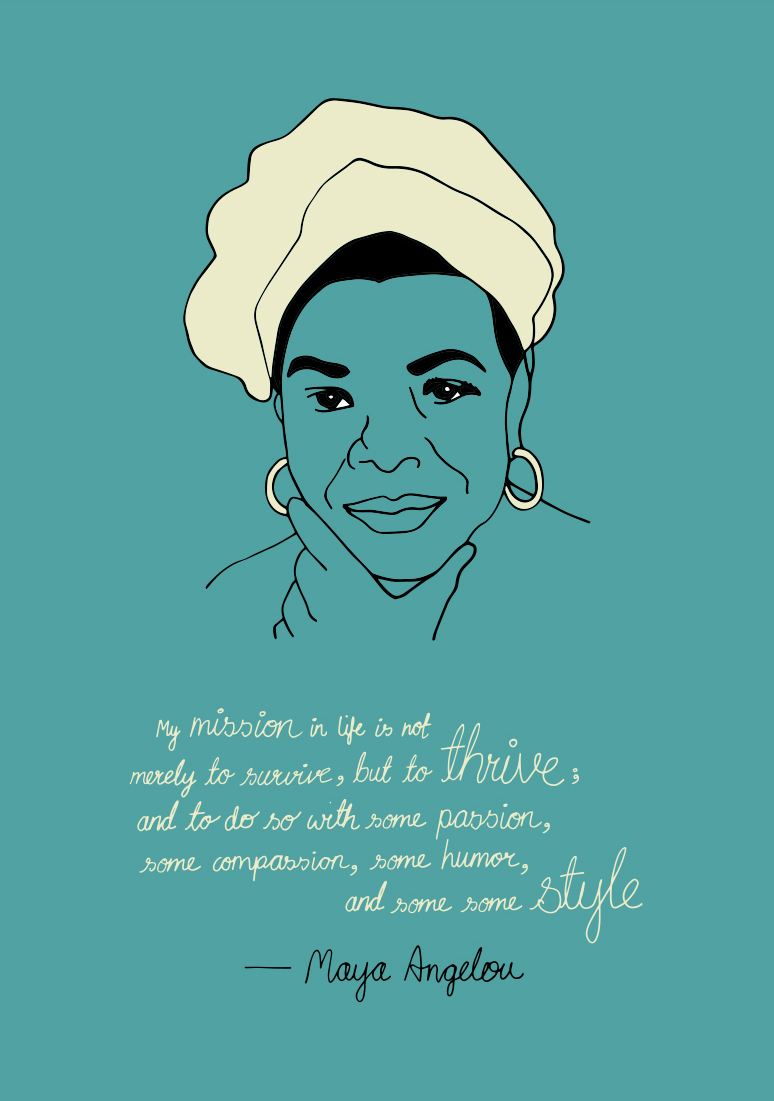 a touch of feminism in the works of maya angelou Maya angelou: the mother of your favorite feminist poet's style  my mom was a  speed-reader and ate books in one sitting  there was/is an accessibility in her  work, which allowed her to touch the lives of girls who weren't.