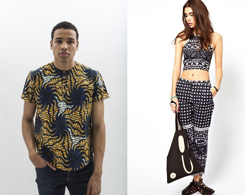 6 African-Print-Jekkah-Mens-Shirt-Asos-Africa-Kanga-Top-Trousers