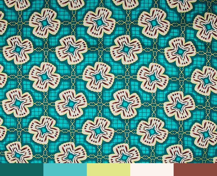 Colour-Palette-Ideas-Wax-Print-Turquoise-In-Technicolour-Floral-Pattern