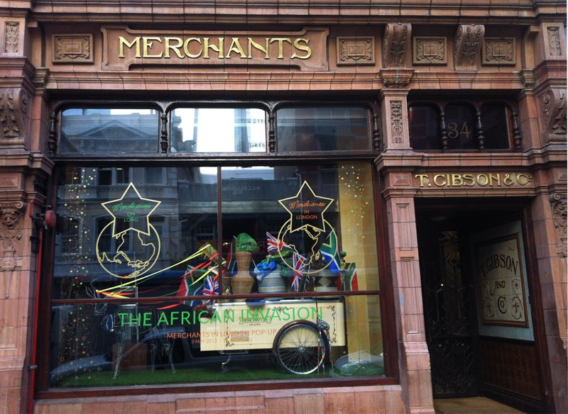Merchants on Long Shop Window