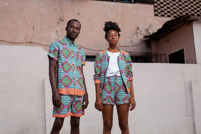 Yevu African Print Menswear Womenswear Fashion