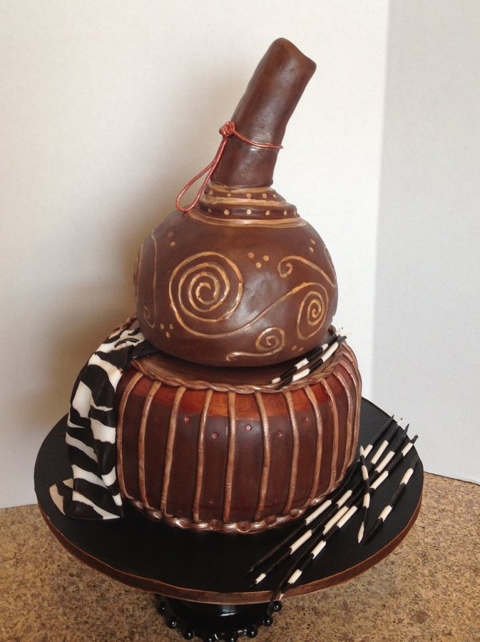 African Calabash Cake Central