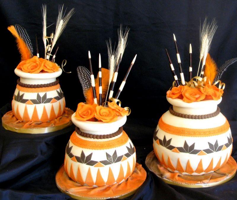 African Calabash Cakes My Harusi
