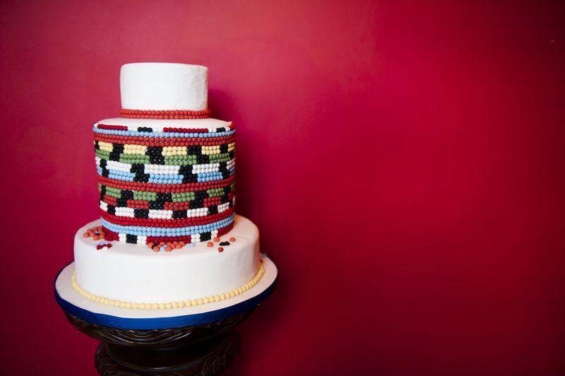African Inspired Cake Beaded Elizabeths Cake Emporium