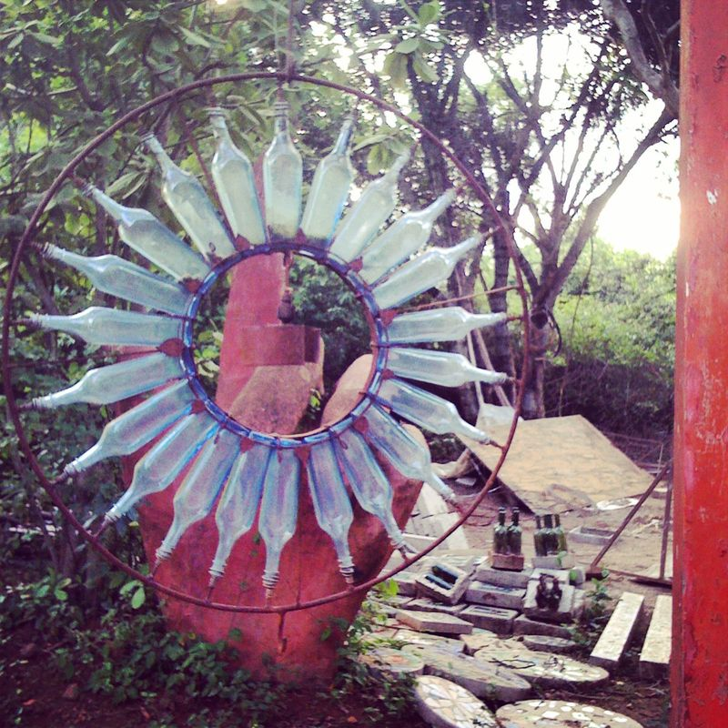 Kitengela Glass Art Sculpture