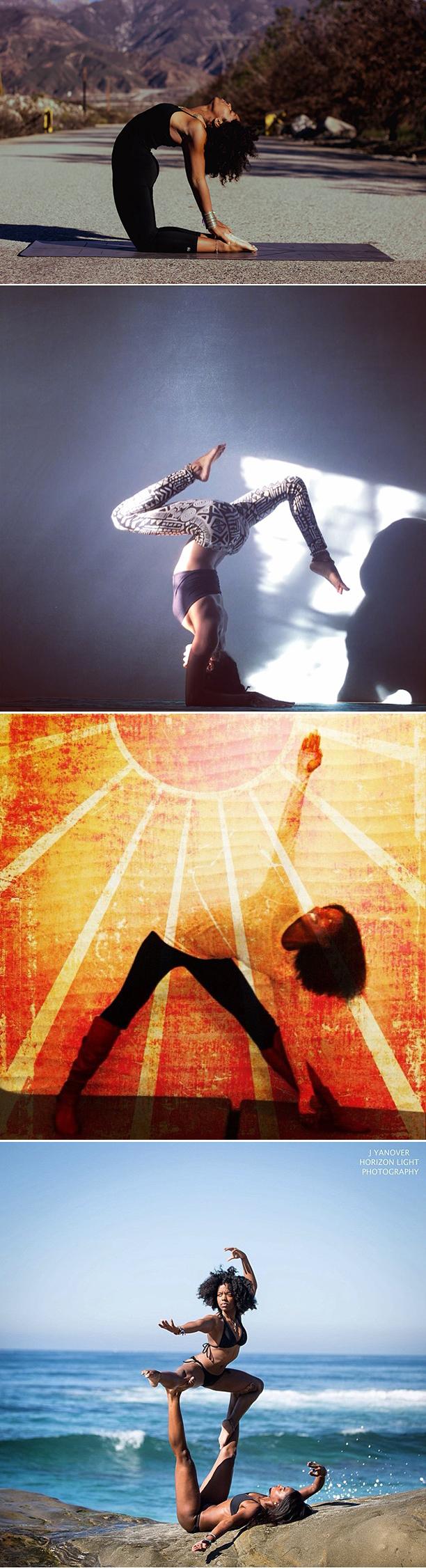Black Female Yogis Yoga Racheal Wasia Wasia Koya Webb