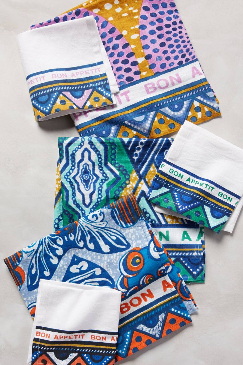 Anthropologie Habari Napkins