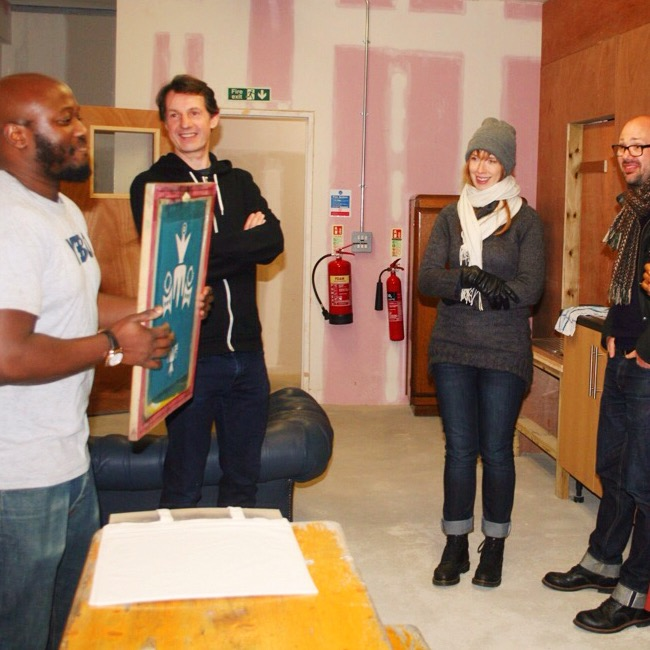 Screenprinting Workshops London Creativity and Noise Lusungu Chikamata
