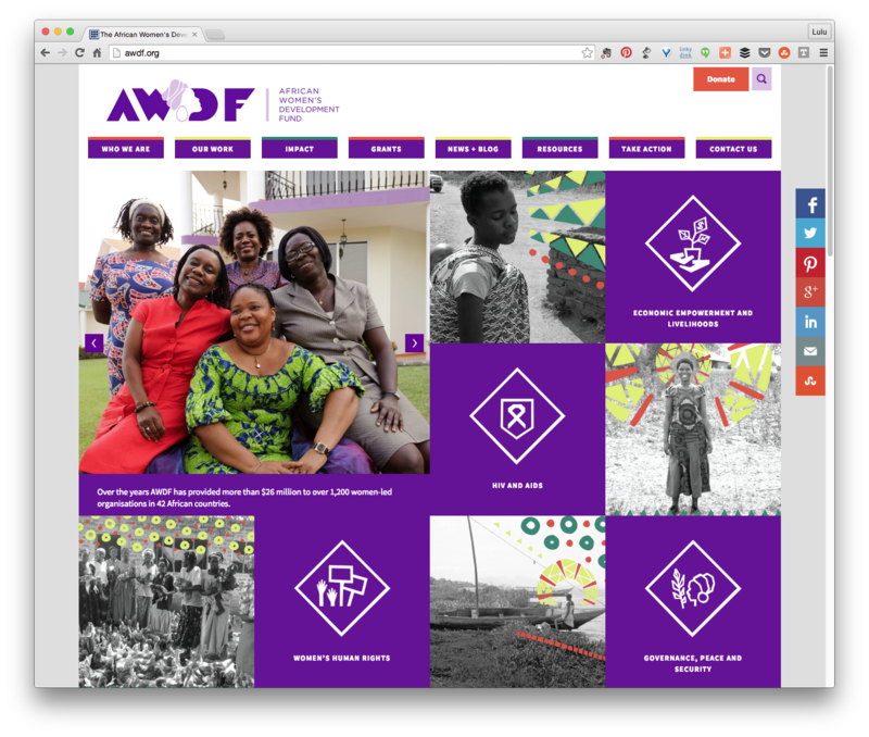 African Womens Development Fund Website