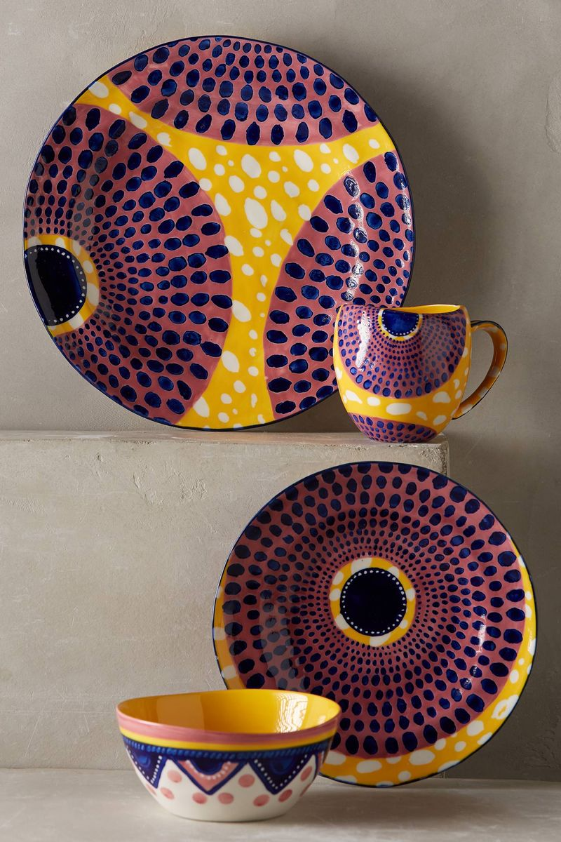 Anthropologie Habari Dinnerware Set