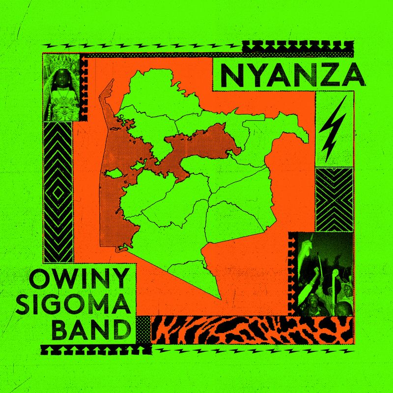 Owiny Sigoma Band Album Cover Art Nyanza