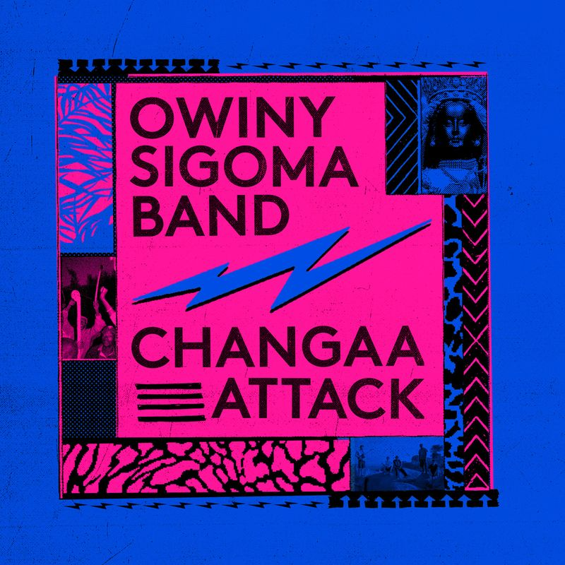 Owiny Sigoma Band Album Cover Art Changaa Attack